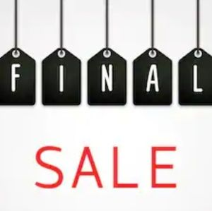 Closet Closing - All Prices Have Been Adjusted